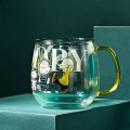 SNOOPY史努比双层隔热玻璃杯