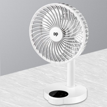 LED多功能双模供电风扇DP久量台式风扇