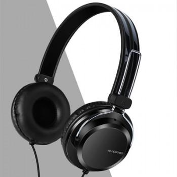 头戴式立体声线控耳机